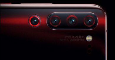 Lenovo Z6 Pro будет иметь четыре задние камеры
