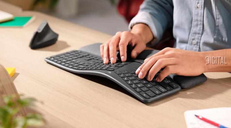 Эргономичная клавиатура Logitech ERGO K860 будет продана за февраль за 130 долларов