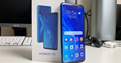 Honor 9X Smartphone – Дизайн, всплывающая камера и дисплей