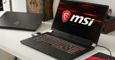 MSI GS65 Stealth 9SE - игровой ноутбук с хорошими техническими характеристиками