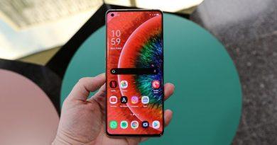 Обзор OPPO Find X2 Pro: уведомление Samsung