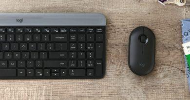 Logitech Slim Combo MK470 - комплект беспроводной мыши и клавиатуры