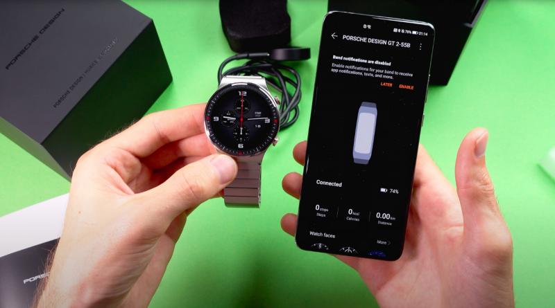 Фотографии показывают дизайн Huawei Watch GT2 Pro Porsche Design