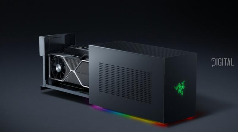 Razer Tomahawk - модульный игровой компьютер по цене 2400 долларов.