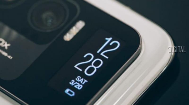 Дополнительный дисплей Xiaomi 11 Ultra использует экран Mi Band 5.