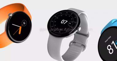 Дата выпуска Google Pixel Watch и внешний вид просочились